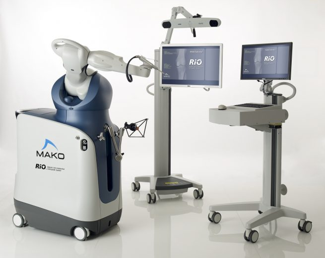 robotic partial knee replacement surgery